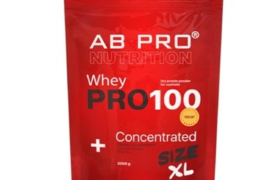 Протеин AB PRO PRO 100 Whey Concentrated манго-апельсин, 2000 г: цена в Киеве