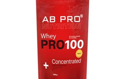 Протеин AB PRO Pro 100 Whey Concentrated, шоколад, 1000 г: цена в Киеве